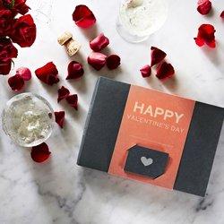 'Happy Valentines' Raw Chocolate Gift Box by Pana Chocolate