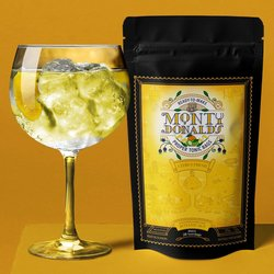 Citrus Fresh Tonic Syrup Infusion Bag 35g - Make Your Own Tonic Syrup - Ready in 24 Hours, Makes 28 Servings