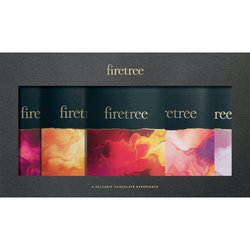 Vegan Chocolate Gift Box - 5 Single Origin Chocolate Bars by Firetree