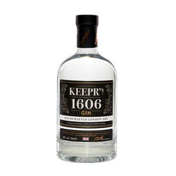 Keepr's 1606 London Dry Gin 70cl 43% ABV
