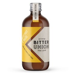 Grapefruit & Basil Bitters 100ml 31.5% ABV - Cocktail Bitters by Bitter Union