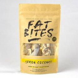 Lemon & Coconut Protein Bites by Fat Bites 100g