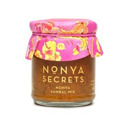 Nonya Sambal Hand-Made Curry Sauce Mix 2 x 170g (With Recipe)