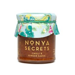 4 x Chilli & Ginger Sauce 170g by Nonya Secrets - Chilli Sauce with Ginger