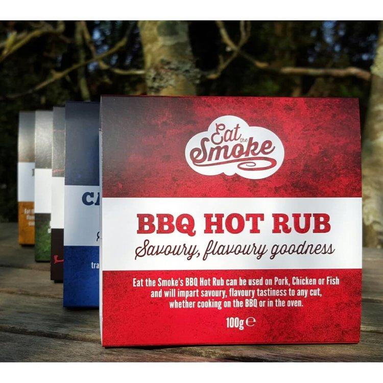 BBQ Hot Rub 100g