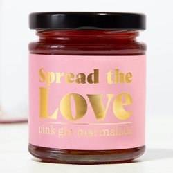 Spread The Love Pink Gin Marmalade 225g - Spreadable Pink Gin