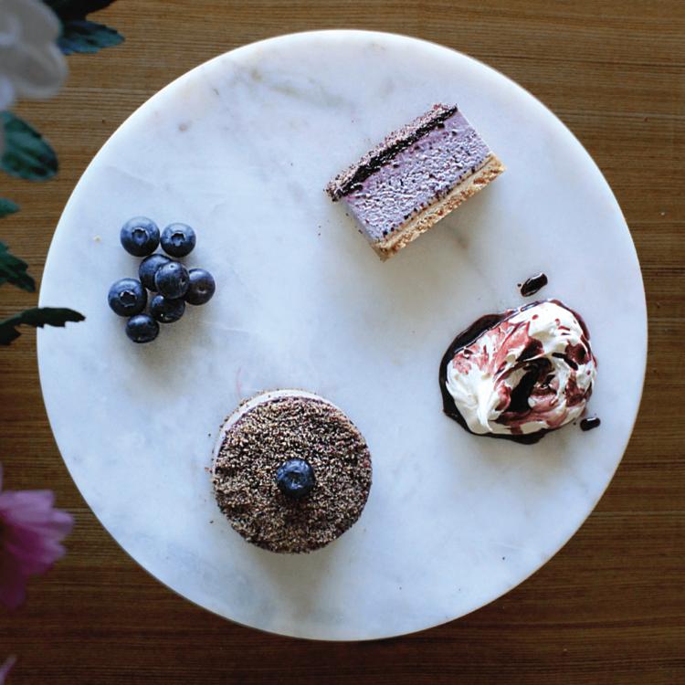 Gluten-Free Royal Blueberry Cheesecake 4 x 129g