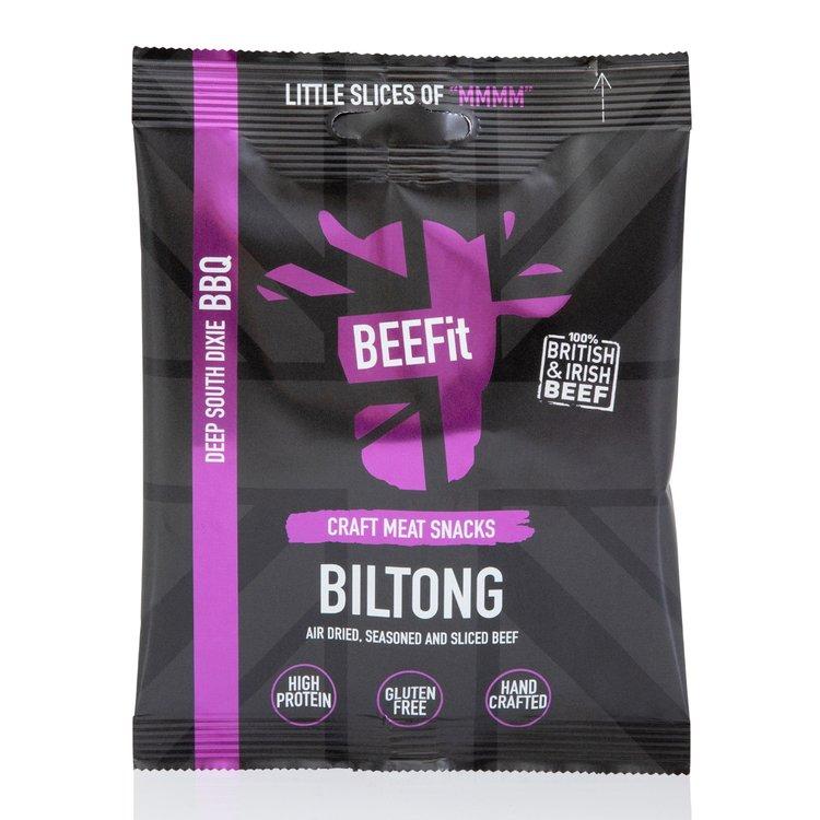 10 x BBQ Flavour Biltong No Fat 35g Bags