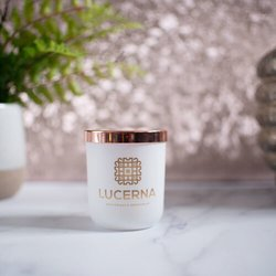 French Fig & Cassis Scented Candle by Lucerna Fragrance 9cl