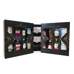 Pink Gin Cocktail Cabinet - Pink Gin Gift Box by MicroBarBox