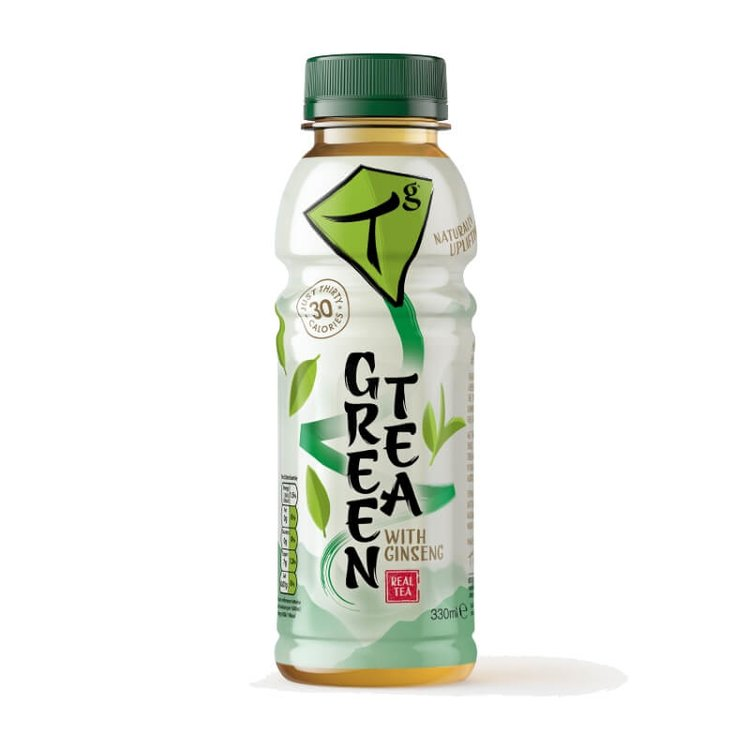 Iced Green Tea with Ginseng 330ml