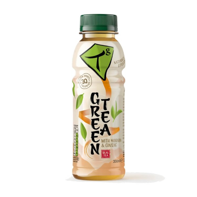 Iced Green Tea with Mandarin & Ginseng 330ml