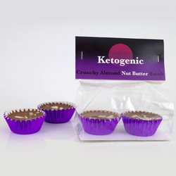 Almond & Cacao Nut Butter Keto Fat Bombs - Vegan Keto Snacks by Ketogenic