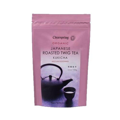 Organic Japanese Kukicha Green Loose Tea 125g
