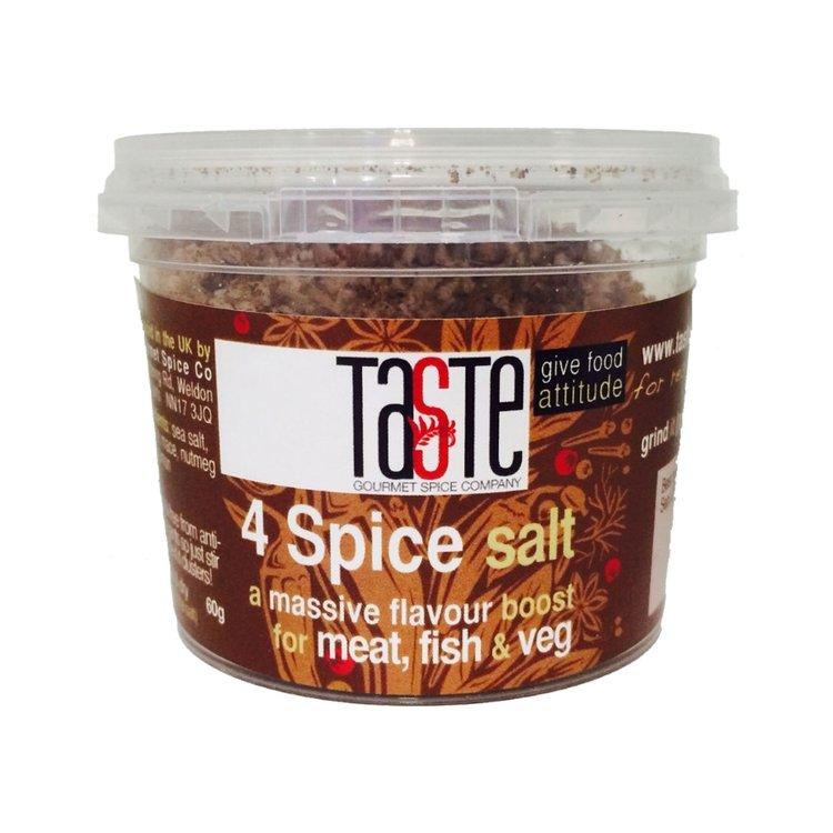 4 Spice Salt 60g