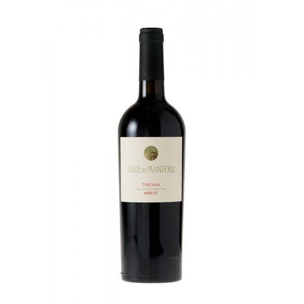 Organic Merlot Colle Dei Mandorli IGT Red Wine 6 x 75cl