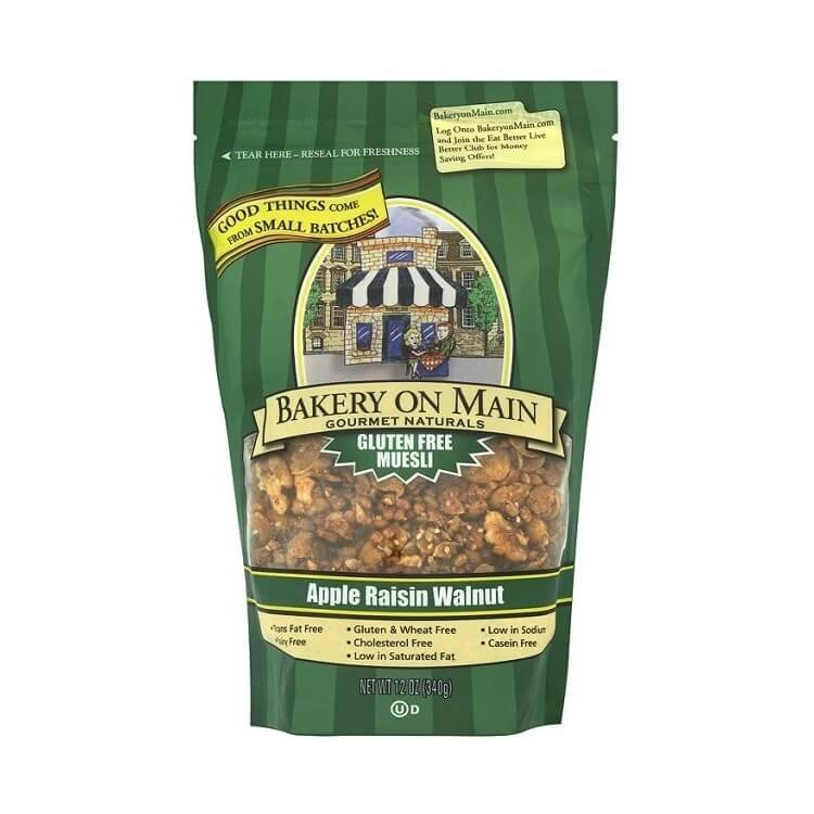 Gluten-Free Apple Raisin Walnut Granola 340g