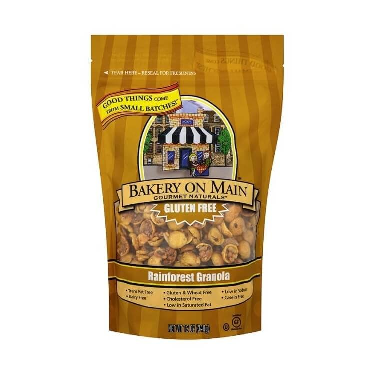 Gluten-Free Rainforest Banana Nut Granola 340g