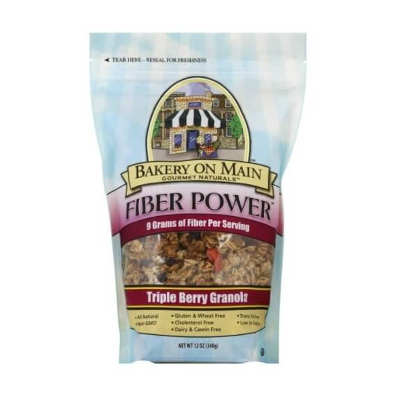 Gluten-Free Triple Berry Fibre Power Granola 340g