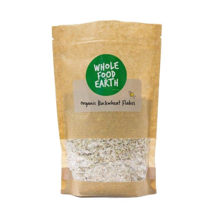 Gluten-Free Organic Buckwheat Flakes 350g