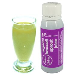 7 x 40ml Organic Broccoli Sprout Juice Shots by Vegus Foods