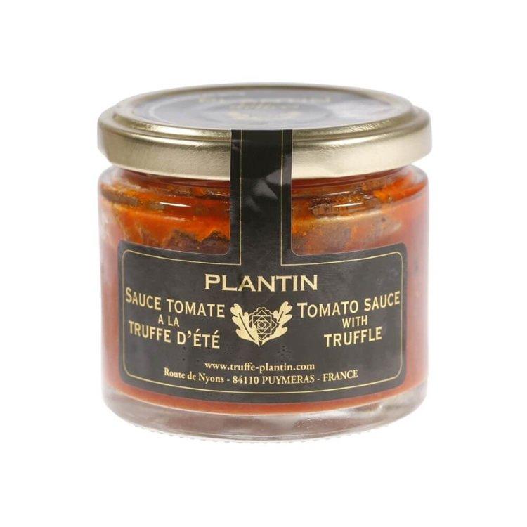 Plantin tomato sauce with truffle