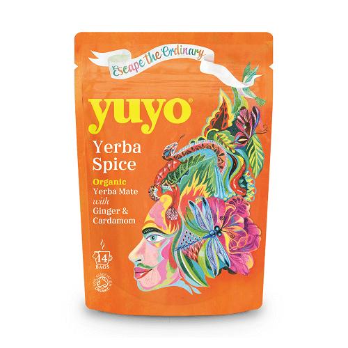 Yerba Mate Spice Tea 14 Tea Bags by Yuyo (Organic)