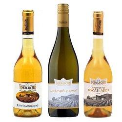 Tokajicum Furmint Wine Selection - Dry, Szamorodni & 5 Puttonyos Tokaji Aszú
