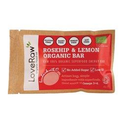 Organic Rosehip & Lemon Bar 48g