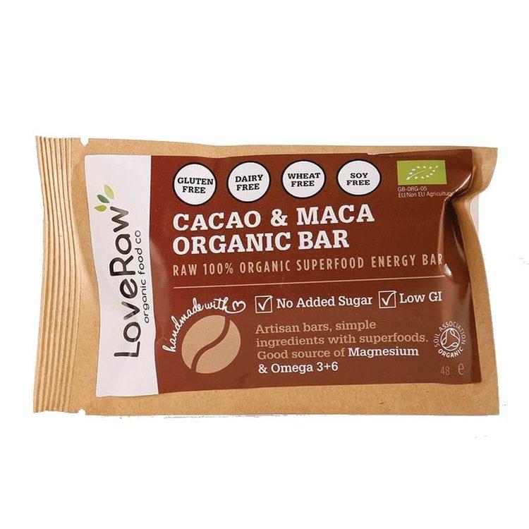 Organic Cacao & Maca Bar 48g