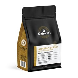 Arabian Blend Medium Roast Coffee with Cardamom 500g - Single Origin Coffee