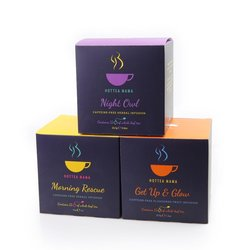Mother's Day Tea Gift - Trio of Caffeine-free Fruit & Herbal Teas by HotTea Mama