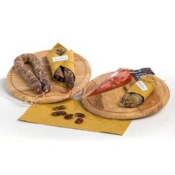 Italian Salami Gift Box inc. 'Nduja, Soppressata & Truffle Salami - Authentic Italian Salami Gift Set