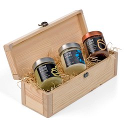 Italian Chocolate Spread Gift Set inc. 3 Artisan Sweet Spreads