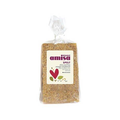 Organic Spelt Chia & Flax Omega Crispbread 200g
