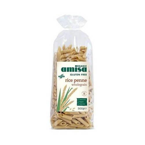 Gluten-Free Organic Wholegrain Rice Penne Pasta 500g