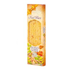 Greek Sesame Bar (Pasteli) with Pistachio 70g