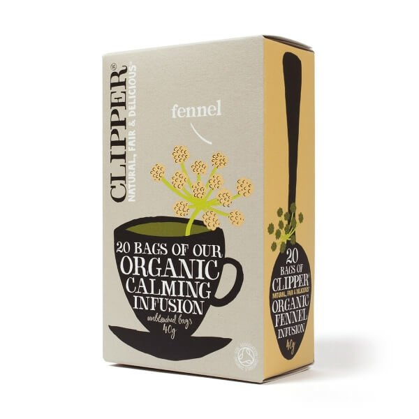 Clipper Organic Fennel Tea 20 Tea Bags