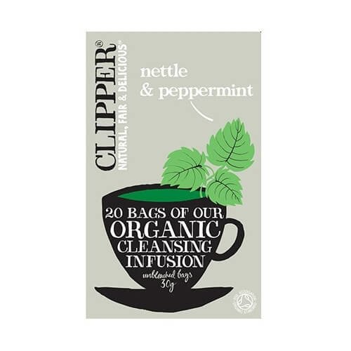 Clipper Organic Nettle & Peppermint Tea 20 Tea Bags