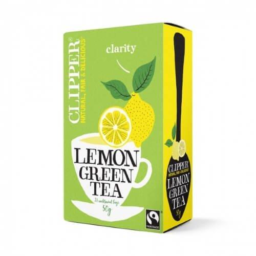 Clipper Fairtrade Green Tea with Lemon 25 Tea Bags