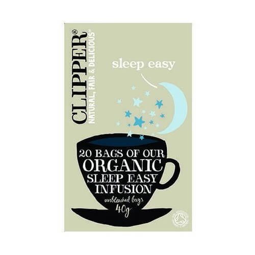 Clipper Organic Sleep Easy Infusion Tea 20 Tea Bags