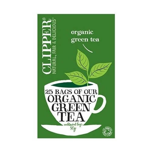 Clipper Organic Green Tea 50 Tea Bags