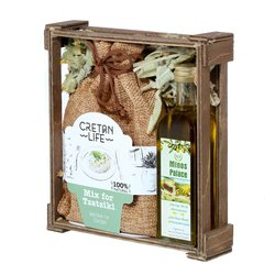 Greek Olive Oil & Tzatziki Seasoning Mix Gift Set