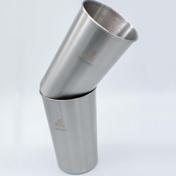 Stainless Steel Tumblers Set of 2