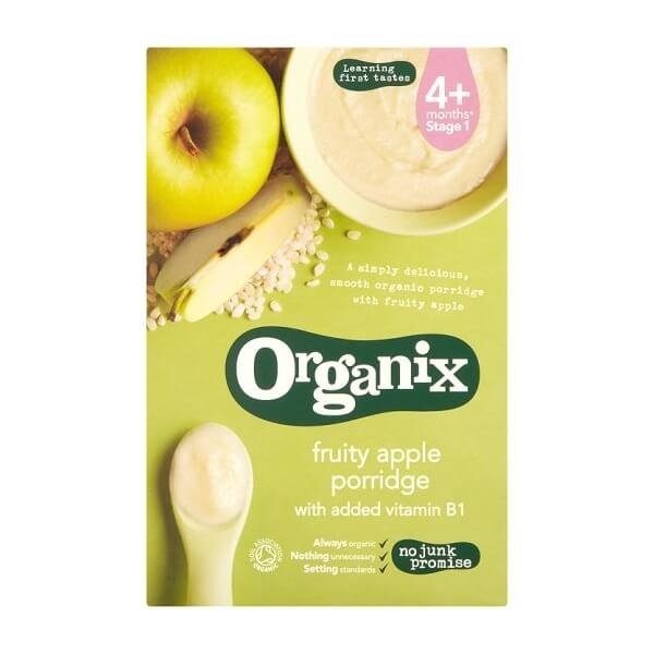 Organic Fruity Apple Porridge Stage 1 Baby Food 120g