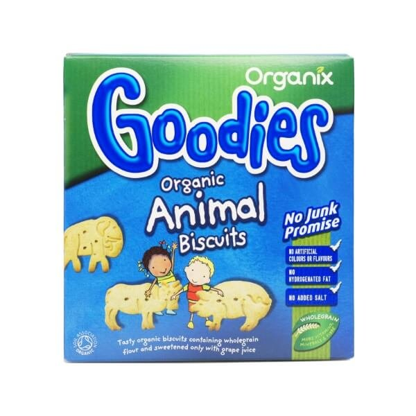 Organic Goodies Animal Biscuits 100g