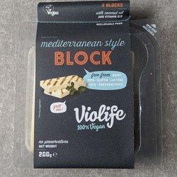 8 x Violife Mediterranean Style Vegan Cheese 200g - Vegan Halloumi