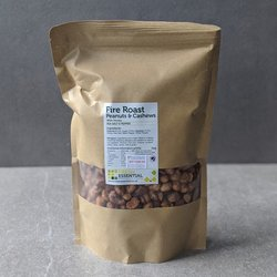 Spicy Honey Roasted Peanuts & Cashews - Fire Roast Nuts 1kg