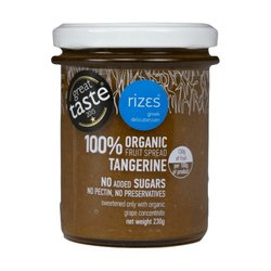 Organic Tangerine Jam 230g - No Added Sugar Jam