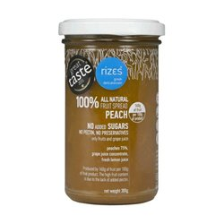 Greek Peach Jam 300g - No Added Sugar Jam